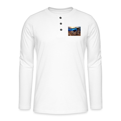 Wodne Przemyślenia - Koszulka henley z długim rękawem