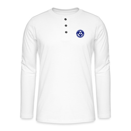 THIS IS THE BLUE CNH LOGO - Henley long-sleeved shirt