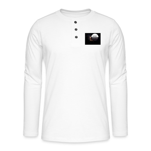 KeMoT odzież limitowana edycja - Koszulka henley z długim rękawem