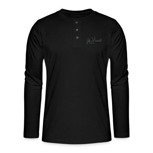 Salam, سلام - Henley long-sleeved shirt