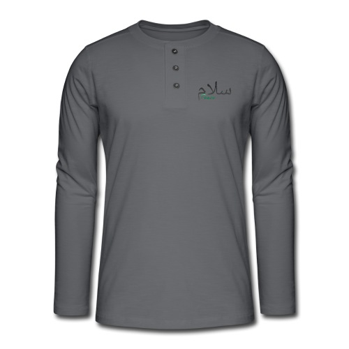 Salam, سلام - Henley long-sleeved shirt