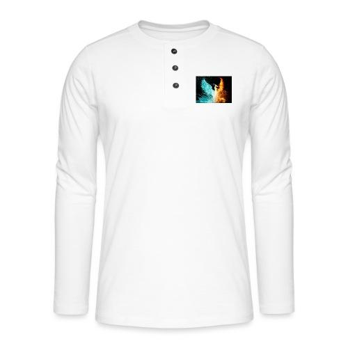 Elemental phoenix - Henley long-sleeved shirt