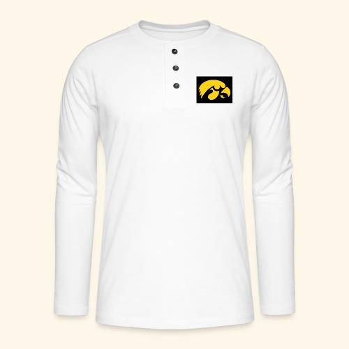 YellowHawk shirt - Henley shirt met lange mouwen