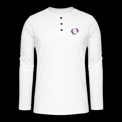 Sonnit Clothing Splash - Henley long-sleeved shirt
