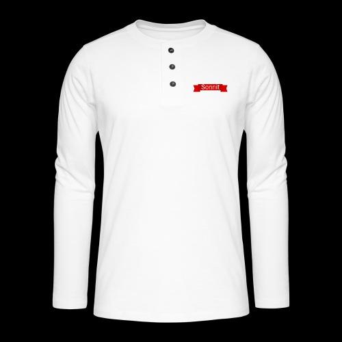 Sonnit Scroll - Henley long-sleeved shirt
