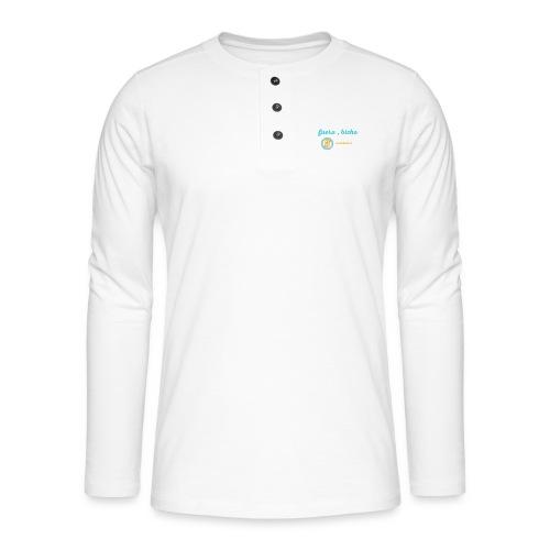 Fuera, bicho - Camiseta panadera de manga larga Henley