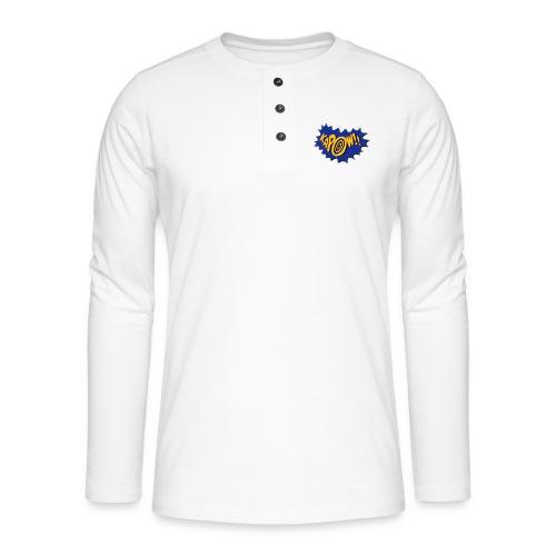 kapow - Henley long-sleeved shirt