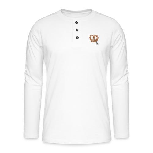 Brezel - Henley shirt met lange mouwen