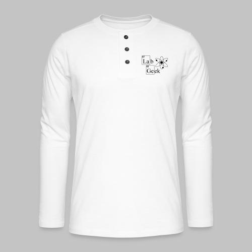 Lab Geek Atom - Henley long-sleeved shirt
