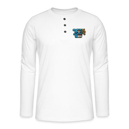 Aztec Icon Rain - Henley long-sleeved shirt