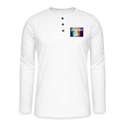Chelmsford LGBT - Henley long-sleeved shirt