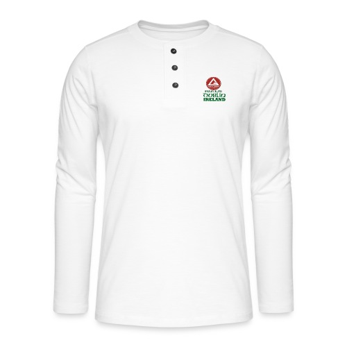 Gracie Barra Dublin Gaelic Celtic Font PNG - Henley long-sleeved shirt