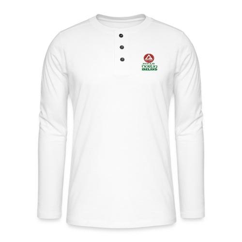 Gracie Barra Dublin Gaelic Celtic Font PNG - Henley long-sleeved shirt