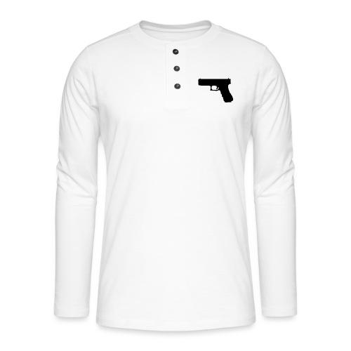 The Glock 2.0 - Henley long-sleeved shirt