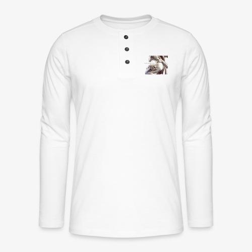 #OrgulloBarroco Rapto difuminado - Camiseta panadera de manga larga Henley