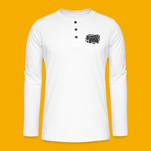 bb logo - Henley shirt met lange mouwen