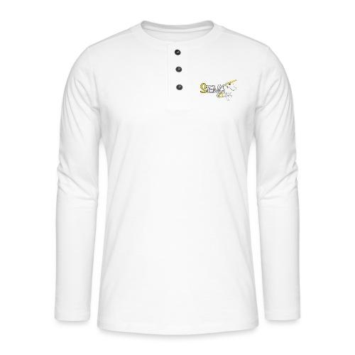 Stema CREA Logo - T-shirt manches longues Henley