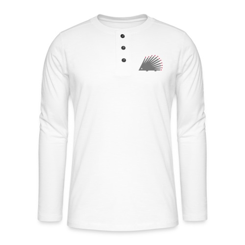 Hedgehog - Henley long-sleeved shirt