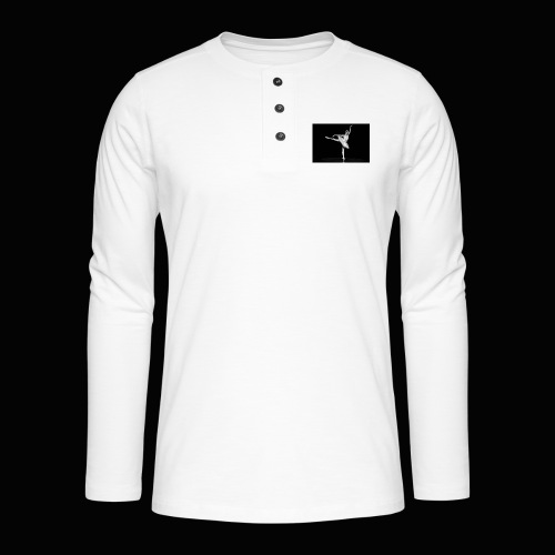 Royal Danish Warrior - Henley T-shirt med lange ærmer