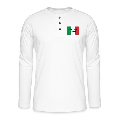ITALIAN LOVER - Maglia a manica lunga Henley