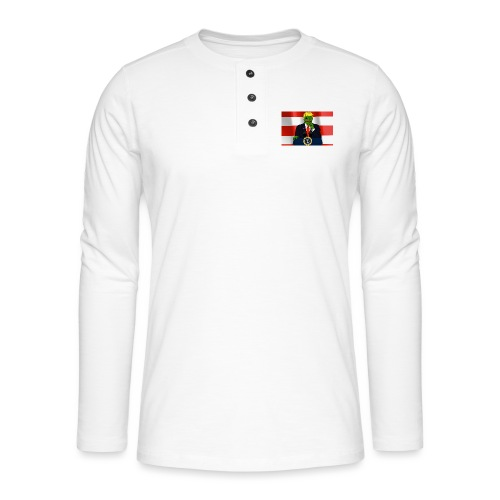Pepe Trump - Henley long-sleeved shirt