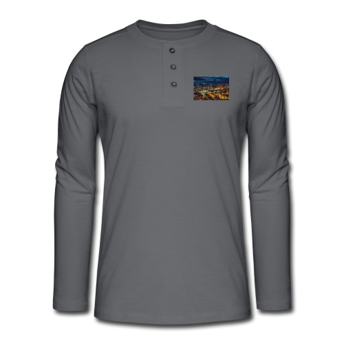 image - T-shirt manches longues Henley
