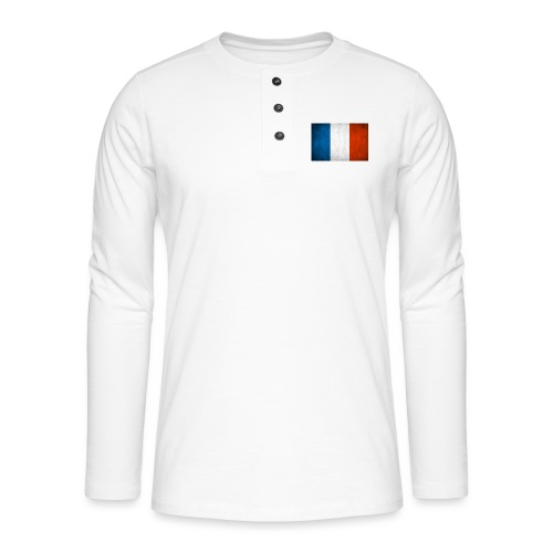 FRANCE - T-shirt manches longues Henley