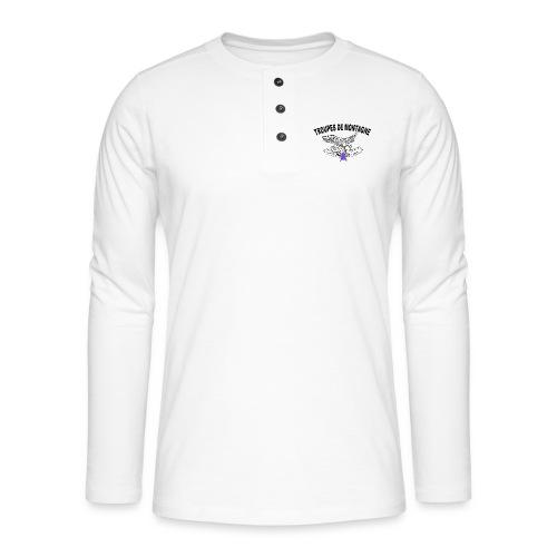 choucasTDM dos - T-shirt manches longues Henley