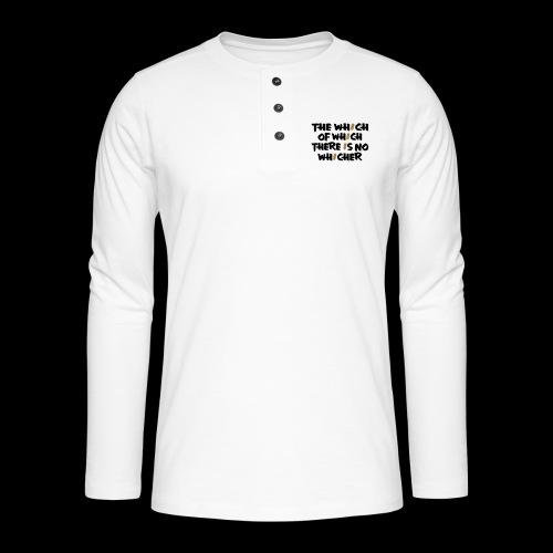 whichwhichwhich - Henley Langarmshirt