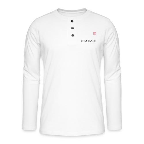 Shu-ha-ri HDKI - Henley long-sleeved shirt
