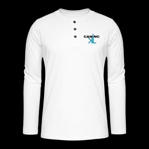 Kassu_L LOGO - Henley pitkähihainen paita