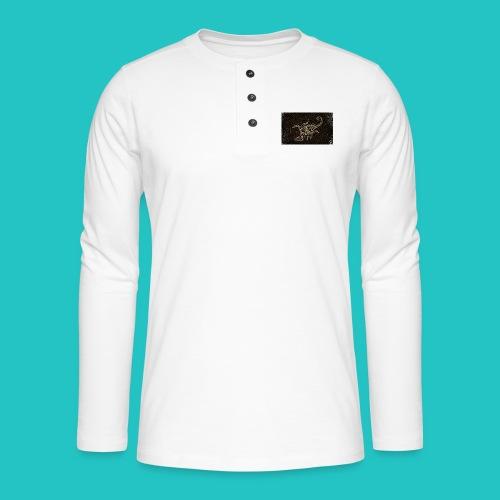 skorpion_grafika-jpg - Koszulka henley z długim rękawem