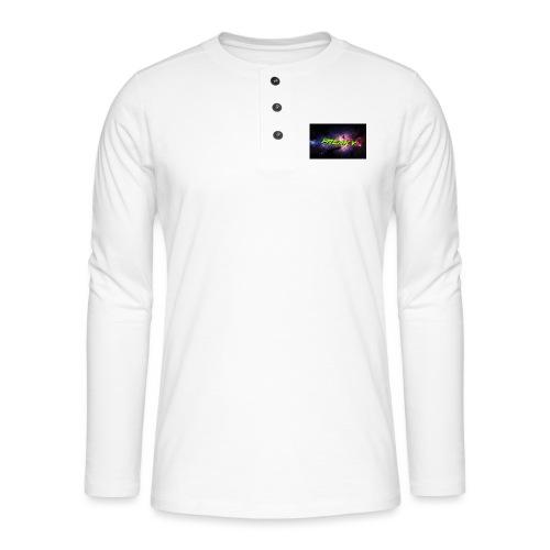 Freaky Mussemåtte - Henley T-shirt med lange ærmer