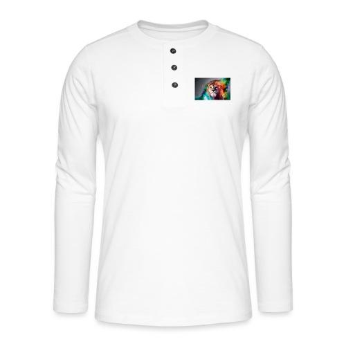 hero lion - T-shirt manches longues Henley