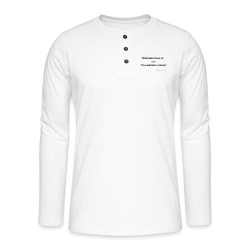wermsch no ihpng black - Henley Langarmshirt