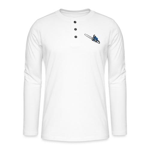 Kettensäge - Henley Langarmshirt