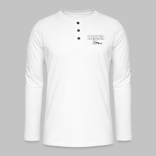 Coffee Break - Henley long-sleeved shirt