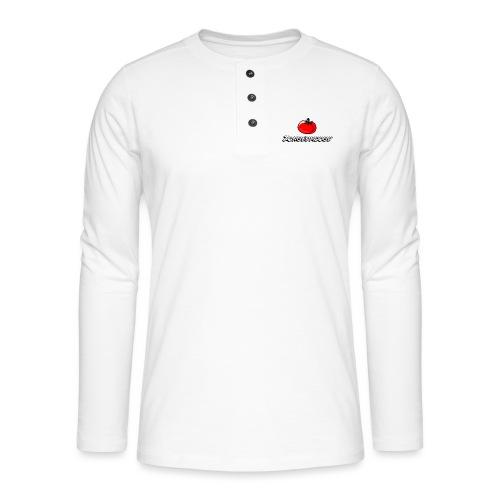 ZONGEDROOGD - Henley shirt met lange mouwen