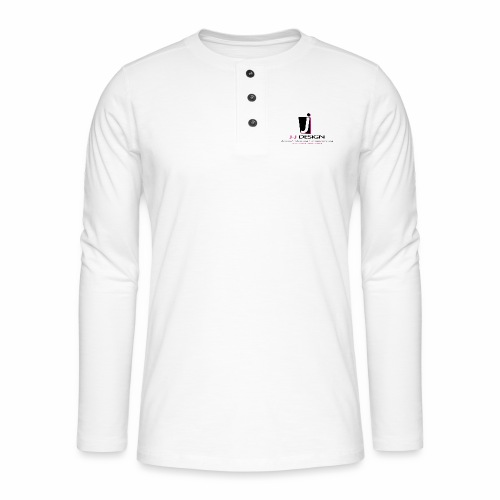 LOGO_J-J_DESIGN_FULL_for_ - Henley T-shirt med lange ærmer