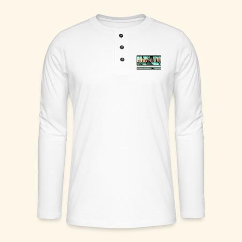 Slur-F06 - Henley long-sleeved shirt