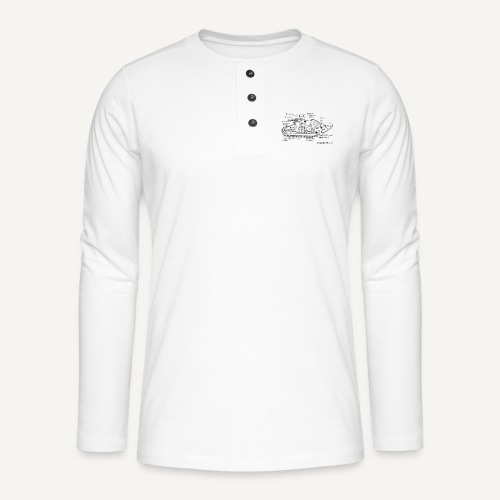 ft17 - Koszulka henley z długim rękawem