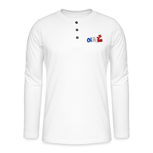 Logo ONLY KING edition francaise - T-shirt manches longues Henley