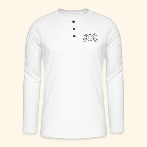 logo_atp_black - Henley long-sleeved shirt