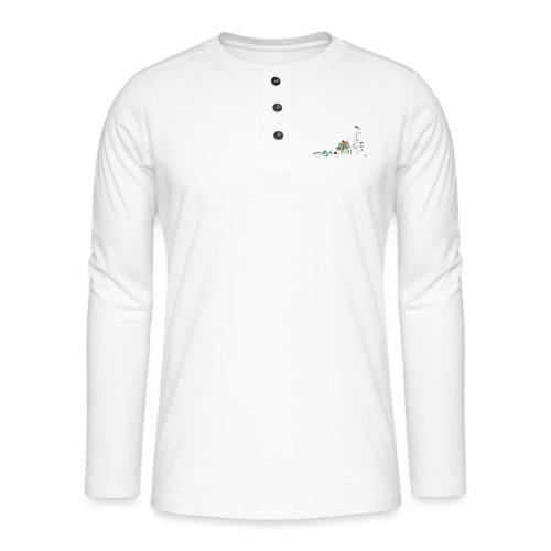frukt og grønt handleveske - Henley langermet T-skjorte