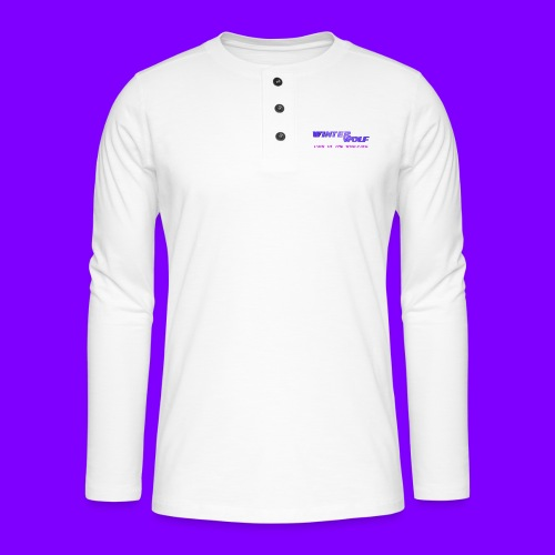 WINTERWOLF LOGO Part of The Wolfpack T-shirt - Henley shirt met lange mouwen