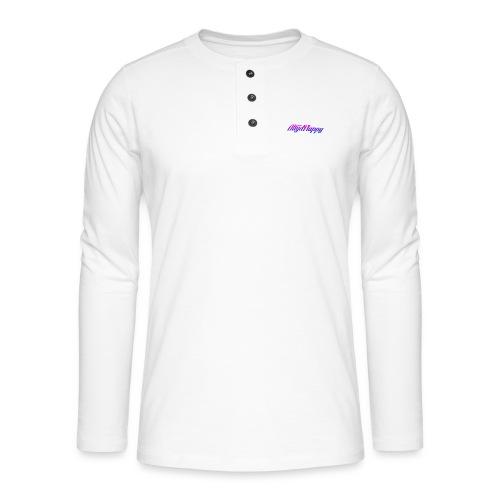 T-shirt AltijdFlappy - Henley shirt met lange mouwen