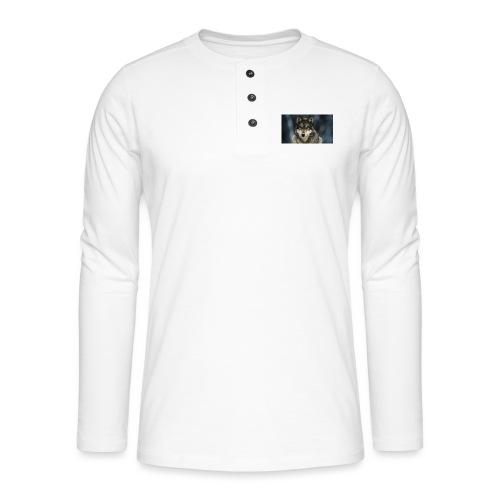 wolf shirt kids - Henley shirt met lange mouwen
