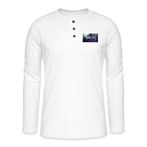 XZWhModzZX - Henley T-shirt med lange ærmer