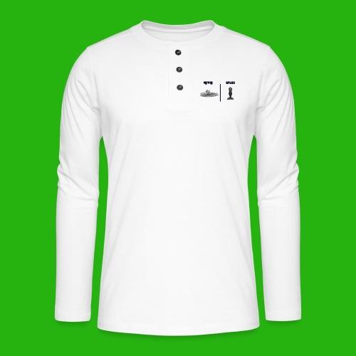 Ben Drowned - Henley long-sleeved shirt