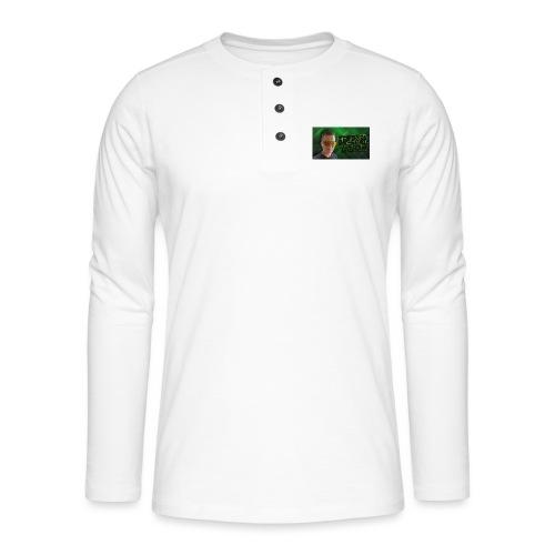 Geebaek - Henley T-shirt med lange ærmer